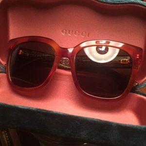 Authentic Gucci Havana Sunglasses - GG0034S 003